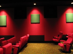 Acoustic Stretch Fabric Wall