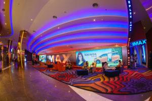 upgrading a movie theatre's common area lighting