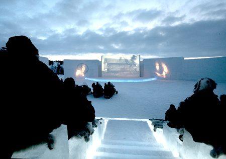 Amazing cinema design and architecture
